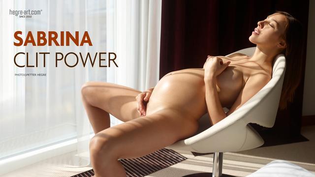 Sabrina clit power