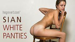 Sian culotte blanche