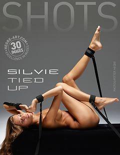 Silvie tied up