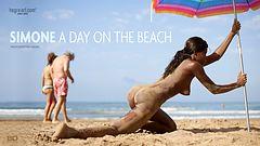 Simone un día en la playa