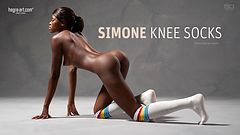 Simone calcetas a la rodilla