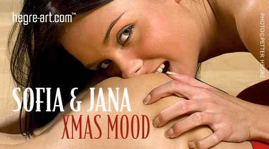 Sofia and Jana XMas mood