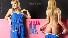 Stella blue dress