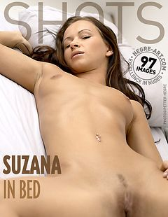 Suzana in bed