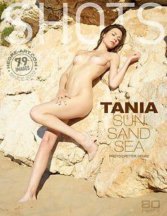 Tania sol arena mar