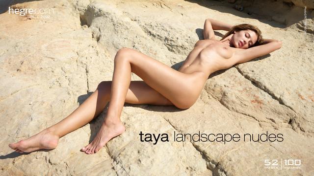 Taya landscape nudes