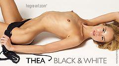 Thea black & white