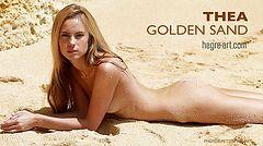 Thea golden sand