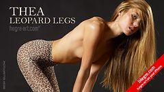 Thea leopard legs