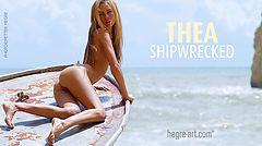 Thea ship wrecked