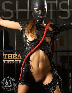 Thea tied up