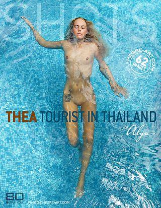 Thea tourist in Thailand by Alya