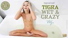 Tigra wet and crazy by Alya