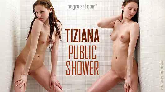 Tiziana öffentliche Dusche