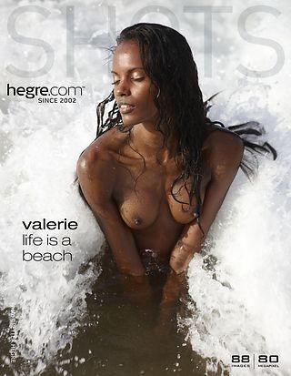 Valerie life is a beach