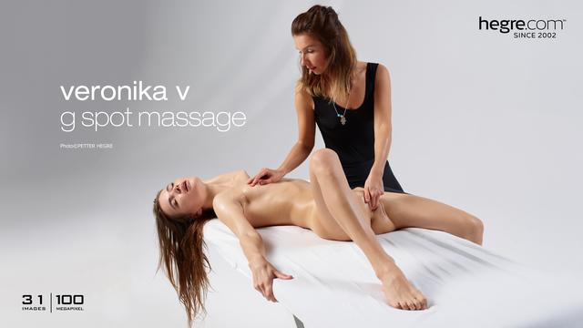 Veronika V g spot massage