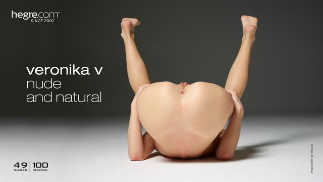 Veronika V nude and natural