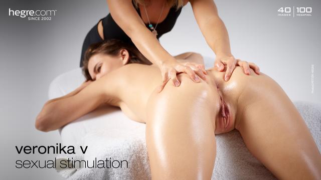 Veronika V Sexuelle Stimulation