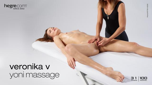 Veronika V masaje del yoni