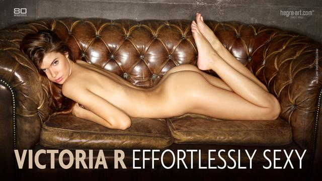 Victoria R unangestrengt sexy