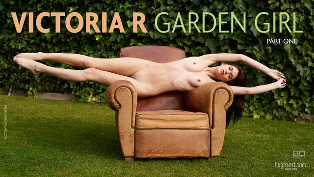 Victoria R garden girl Part 1