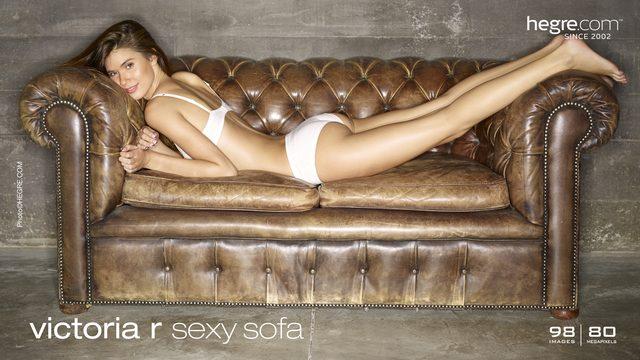 Victoria R sexy sofa