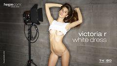 Victoria R robe blanche