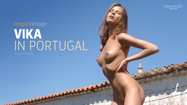 Vika au Portugal