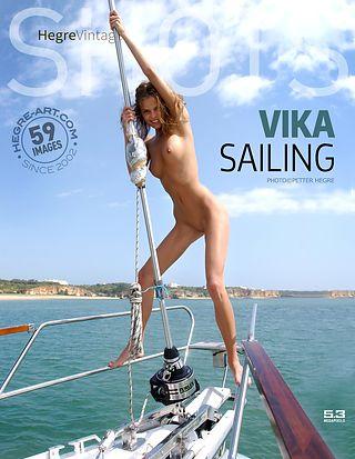 Vika navegando