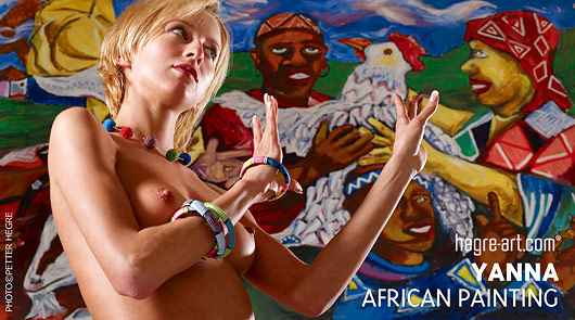 Yanna African painting
