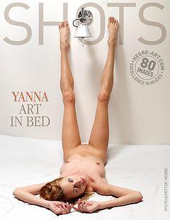 Yanna art in bed