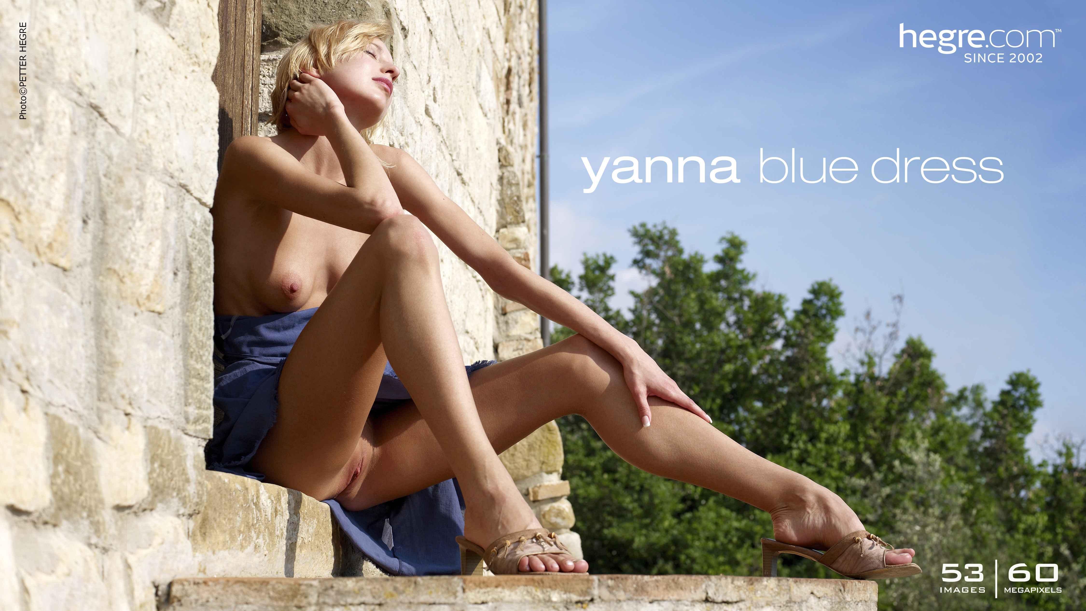 Yanna vestido azul