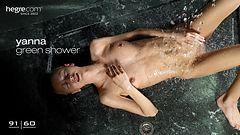 Yanna green shower