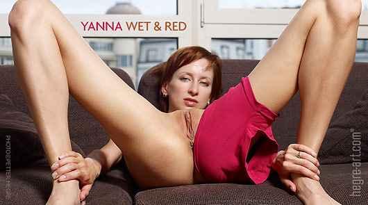 イヤンナ 濡れて赤い