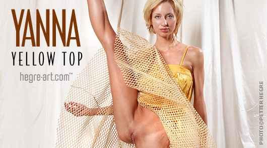 Yanna top amarillo