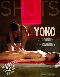 Yoko cérémonie de toilette