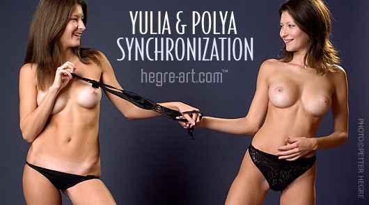 Yulia y Polya sincronización