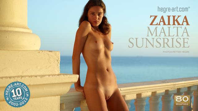 Zaika Malta sunrise