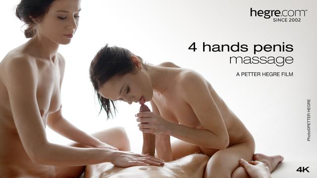 4 Hands Penis Massage