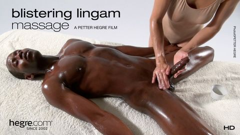 Blistering Lingam Massage