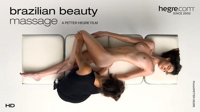 Brasilianische Schönheitsmassage