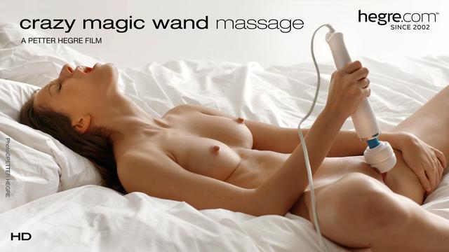 Crazy Magic Wand Massage