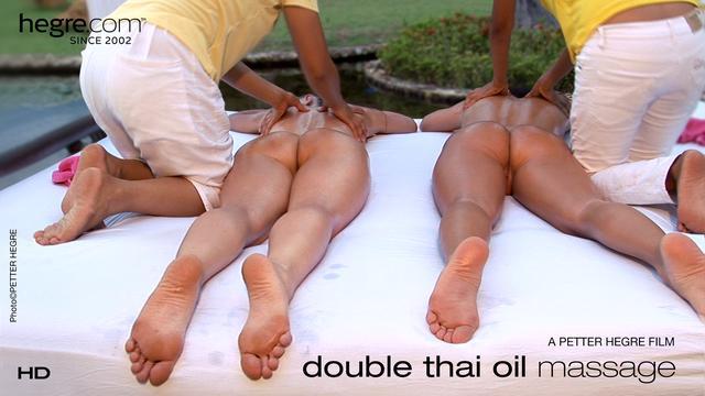 Double Thai Oil Massage