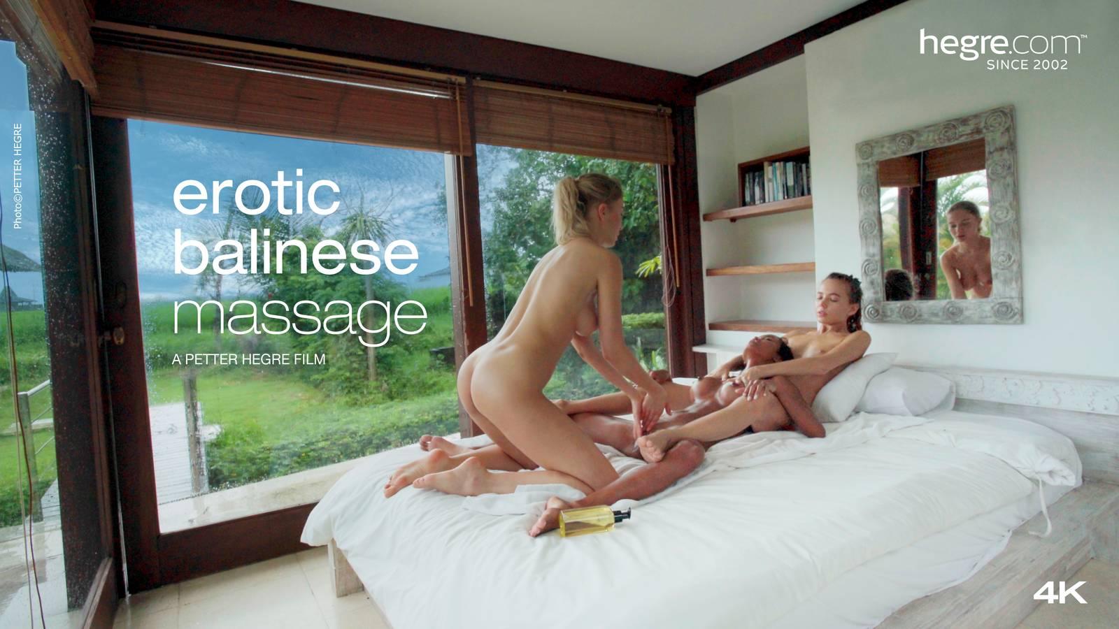 Teen girls massage