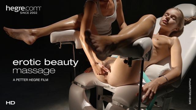 Masaje de belleza erótica