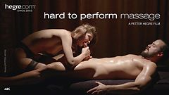 Hard to Perform Massage