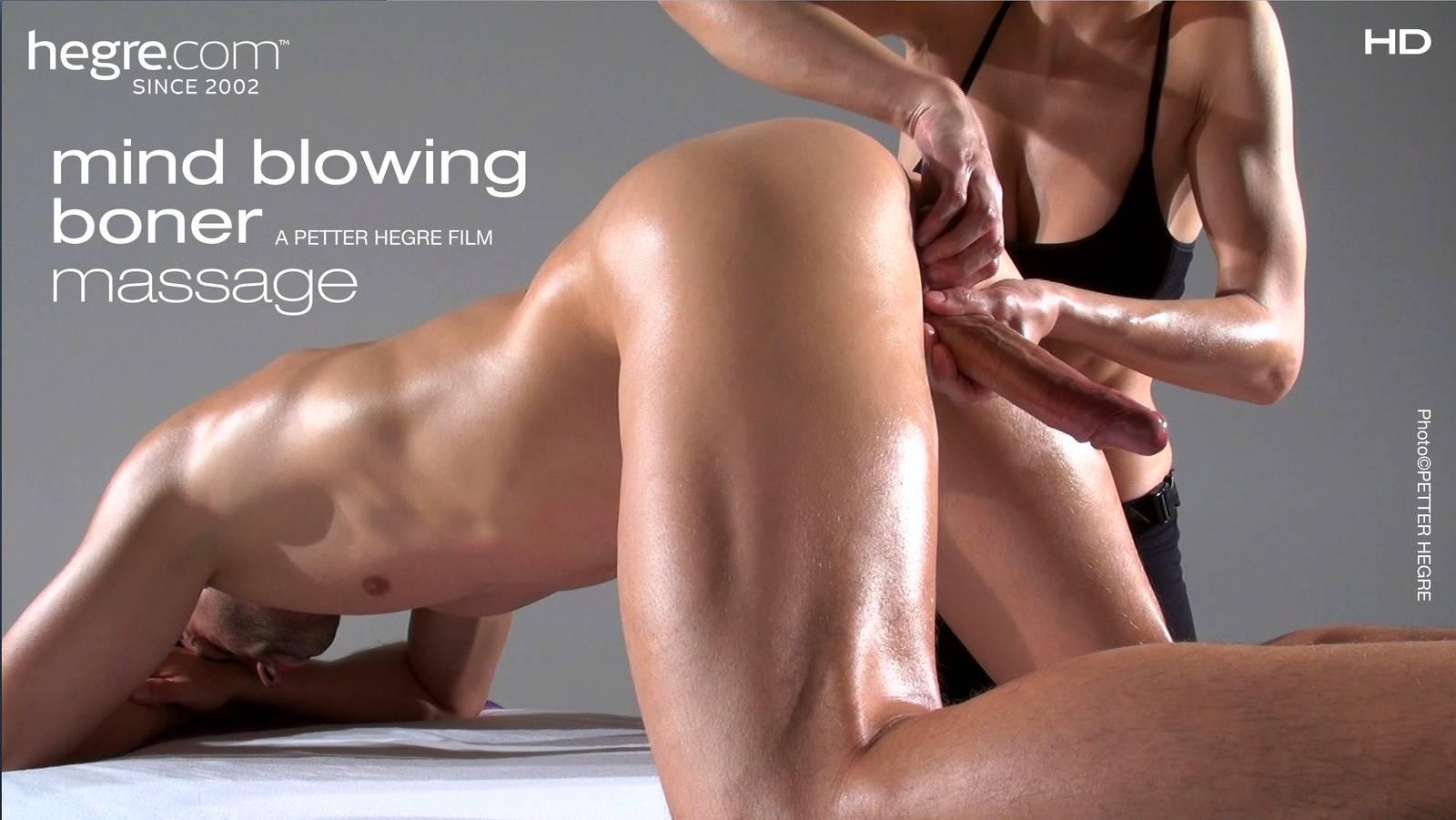 Blonde Big Boobs Massage Room