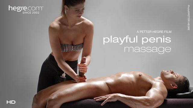 Massage du Penis enjoué