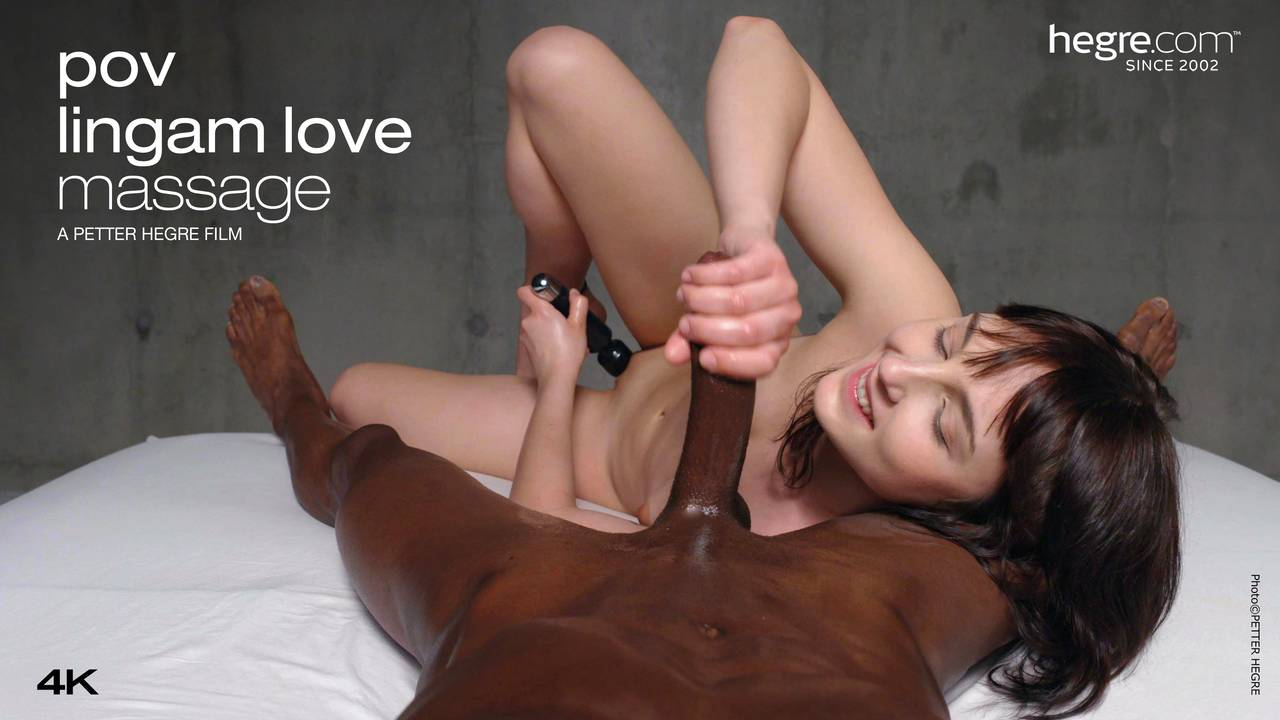 Lingam massage penis