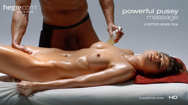 Masaje poderoso del coño
